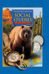 Houghton Mifflin Social Studies  Student Edition Level 4 States and Regions-9780618423620
