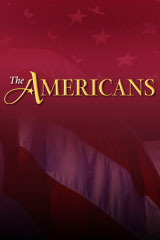 The Americans  Reading Study Guide Audio CDs (English)-9780618424238