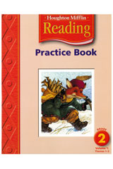 Houghton Mifflin Reading  Practice Book, Volumes 1 & 2 Grade 2-9780618424542