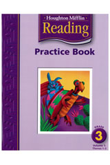 Houghton Mifflin Reading  Practice Book, Volumes 1 & 2 Grade 3-9780618424559