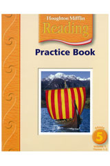 Houghton Mifflin Reading  Practice Book, Volumes 1 & 2 Grade 5-9780618424573