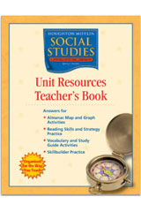 Houghton Mifflin Social Studies  Unit Resources Teacher's Book Grade 5 US History-9780618438389