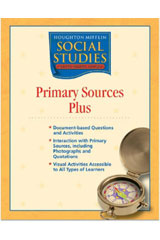 Houghton Mifflin Social Studies  Primary Sources Plus Blackline Masters Grade 1 School and Family-9780618438594
