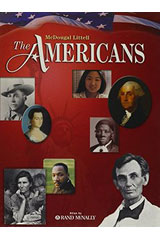 The Americans  Modified Lesson Plans For English Learners Grades 9-12-9780618454648