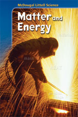 McDougal Littell Science  Student Edition Modules, Spanish Matter and Energy-9780618464296