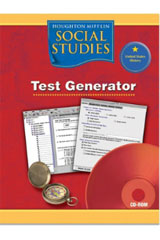 Houghton Mifflin Social Studies  Test Generator CD-ROM Grade 5 US History: The Early Years-9780618477463