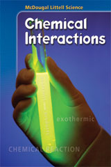 McDougal Littell Science: Chemical Interactions  Note-Taking / Reading Study Guide-9780618477760