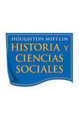Houghton Mifflin Historia y Ciencias Sociales  Extra Support Individual titles 6-Copy Set Grade 5 Unit 3: Días escolares en 1700-9780618488445