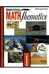 Middle Grades MathThematics  Student Edition © 2005 Book 1-9780618501656