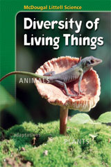 McDougal Littell Science: Diversity of Living Things  eEdition Plus Online (1 year subscription)-9780618504602