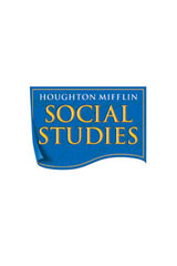 Houghton Mifflin Social Studies  Individual Book On-Level (Set of 1) Grade 1 School and Family-9780618509423