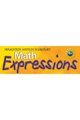 Math Expressions  Student Activity Book, Volume 2 Grade K-9780618509737