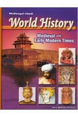 McDougal Littell World History: Medieval and Early Modern Times  Reading Study Guide-9780618529971