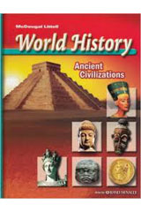 McDougal Littell World History: Ancient Civilizations  Multi-Language Glossary of Social Studies Terms-9780618530144