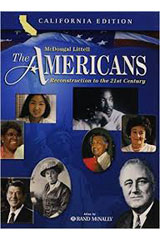 The Americans California Student Edition Reconstruction to the 21st Century-9780618557134
