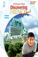 Discovering French, Nouveau!  Teacher's Edition Level 2-9780618656585