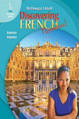 Discovering French, Nouveau!  Lesson Review Bookmarks Premiere Partie Level 1A-9780618680399