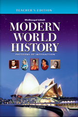 World History: Patterns of Interaction  Teacher Edition Grades 9-12 Modern World History-9780618690138