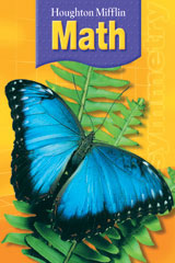 Houghton Mifflin Math  Student Book +Write-On, Wipe-Off Workmats +Practice Book Grade 3-9780618699315