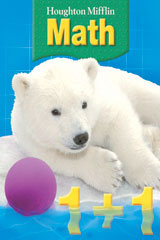 Houghton Mifflin Math  Multi Volume Student Book +Write-On, Wipe-Off Workmats Grade 1-9780618699391