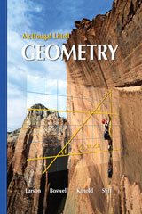 Holt McDougal Larson Geometry  Resource Book: Chapter 1-9780618734290