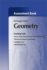 Holt McDougal Larson Geometry  Assessment Book-9780618736676