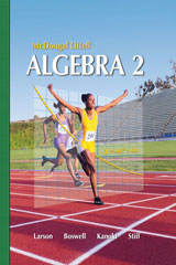 Holt McDougal Larson Algebra 2  Benchmark Tests-9780618736744