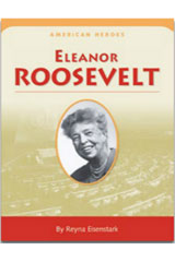 Houghton Mifflin Social Studies  American Hero Biographies (Set of 6) Grade 3 Eleanor Roosevelt-9780618750702