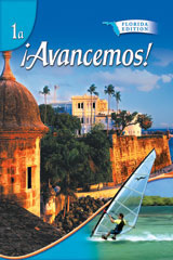 ¡Avancemos!  Lecturas para hispanohablantes Workbook Teacher's Edition Levels 1A/1B/1-9780618752515