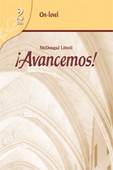 ¡Avancemos!  Assessment Program On-Level Level 2-9780618753000
