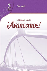 ¡Avancemos!  Assessment Program On-Level Level 3-9780618753017