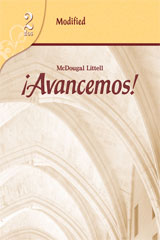 ¡Avancemos!  Modified Assessment Level 2-9780618753321