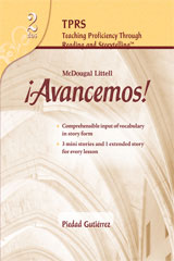 ¡Avancemos!  Teaching Proficiency Through Reading and Storytelling Level 2-9780618765898