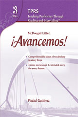 ¡Avancemos!  Heritage Learners Assessment Level 2-9780618766352