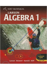 Holt McDougal Larson Algebra 1 New York Notetaking Guide-9780618775095
