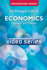 Economics: Concepts and Choices  Video Series on DVD-9780618776726