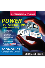 Economics: Concepts and Choices  Power Presentations DVD-ROM-9780618776757