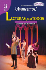 ¡Avancemos!  Lecturas para todos (Student) with Audio CD-9780618782116