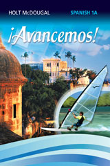 ¡Avancemos!  Lesson Review Bookmarks Level 1A-9780618798582