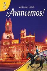 ¡Avancemos!  Lecturas para hispanohablantes (Student) with Audio CD Level 2-9780618802302