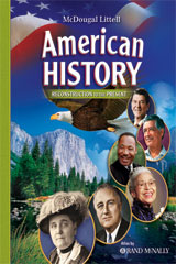 American History: Reconstruction to the Present 6 Year Subscription eEdition Online-9780618829156