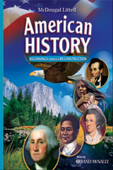 American History: Beginnings through Reconstruction  eEdition Online (1 year subscription)-9780618829170