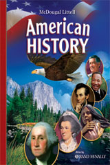 American History  Daily Test Practice Transparencies-9780618835263
