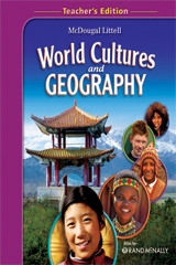 McDougal Littell Middle School World Cultures and Geography  Teacher Edition-9780618844937