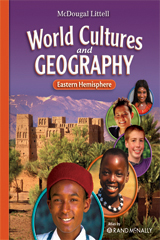 McDougal Littell Middle School World Cultures and Geography  Student Edition Eastern Hemisphere-9780618887347