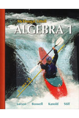 McDougal Littell Algebra 1  Student Edition-9780618887699