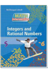Algebra Readiness  Book Integers and Rational Numbers-9780618900602