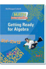 Algebra Readiness  Book Getting Ready for Algebra-9780618900787