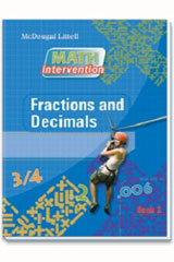 Math Intervention  Spanish Book Fractions and Decimals-9780618905232
