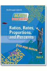 Math Intervention  Spanish Book Ratios, Rates, Proportions, and Percents-9780618905324